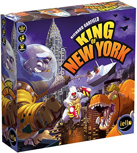 IELLO King of New York Board Game