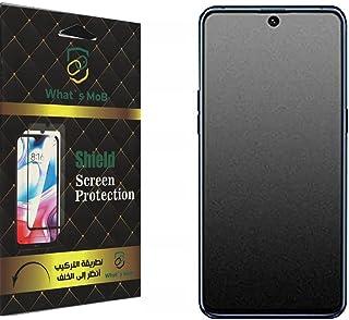 واقي شاشة من السيراميك النانو لهواتف Huawei Honor 10x lite مضاد لبصمات الأصابع ومضاد للصدمات بواسطة what's mob - شفاف