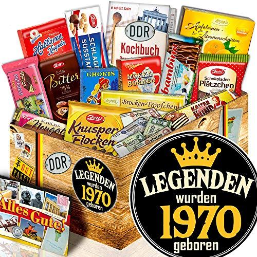Legenden 1970 | Geburtstag Geschenke | DDR Geschenk Schoko