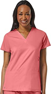 Maevn Uniforms - 1708 [EON] - Uniforme Quirúrgico - Filipina Médica Mujer Cuello V con Bolsas Laterales, Corte de Princesa...