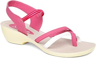 PARAGON Women's Pink Fashion Sandals-8 UK/India (42 EU) (PU50015LP)