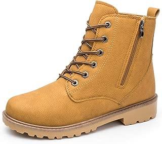 LJYHD Men's Boots Outdoor Climbing Desert Boots Tooling Boots Casual Belt Zipper