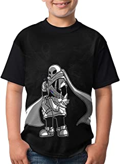maichengxuan Camisetas de Manga Corta, Youth Tops Graphic Ink Sans T Shirts Short Sleeve tee Shirts Cute T-Shirt for Boys/...