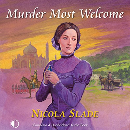 Murder Most Welcome audiobook cover art