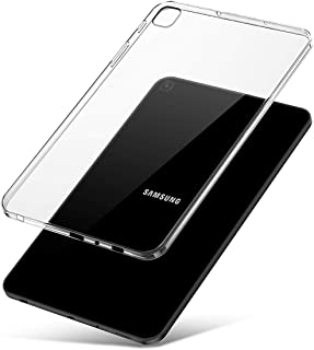 J&D Case Compatible for Galaxy Tab A 2019 Case, [Slim Cushion] [Lightweight] [Transparent] Slim Clear TPU Rubber Back Cover for Samsung Galaxy Tab A 8.0 2019 P205 Case Clear - Not for Tab A 10.1 2019