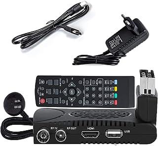Leyf Tempo 1000 HD Decoder TNT Terrestre DVB-T2 Mini Scart peritel TNT HD Decoder, 1080p Full HD (HDMI, Scart, USB) zwart...