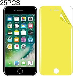 LIJINGFANG 25 PCS For iPhone 7 Plus / 8 Plus Soft TPU Full Coverage Front Screen Protector