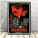 Generic Frankenstein Universal Monster Horror Movie Poster