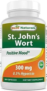 Best Naturals St John's wort 300 mg 180 Capsules