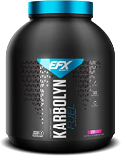 EFX Sports Karbolyn Fuel | Pre, Intra, Post Workout Carbohydrate Supplement Powder | Carb Load, Energize, Improve & Recover Faster | Easy to Mix | Raspberry Lemonade (4 LB 8 OZ)