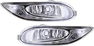 Roadstar Fog Lights 12V 55W 9006(HB4) Halogen Lamp Bulb Fit for 2002-2003 Toyota Solara 2005-2008 Toyota Corolla Clear Lens