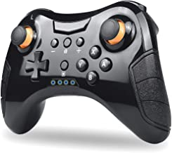 Defway Wireless Controller for Ninetendo Switch with Gyro Motion Control, Rumble, 10m 4H Bluetooth Gamepad, Ergonomic Rechargeable Joypad for Long Gaming Sessions, Alternative to Switch Pro Controller
