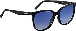 BLUE BAY Elusor, Occhiali da Sole per Donna, Protezione UV 100%, Occhiali da Sole Realizzati con Materiale Riciclato, Legg...