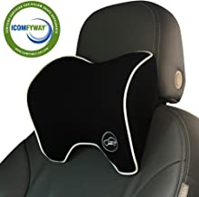 ICOMFYWAY Car Neck Support Pillow for Neck Pain Relief When Driving,Headrest Pillow for..