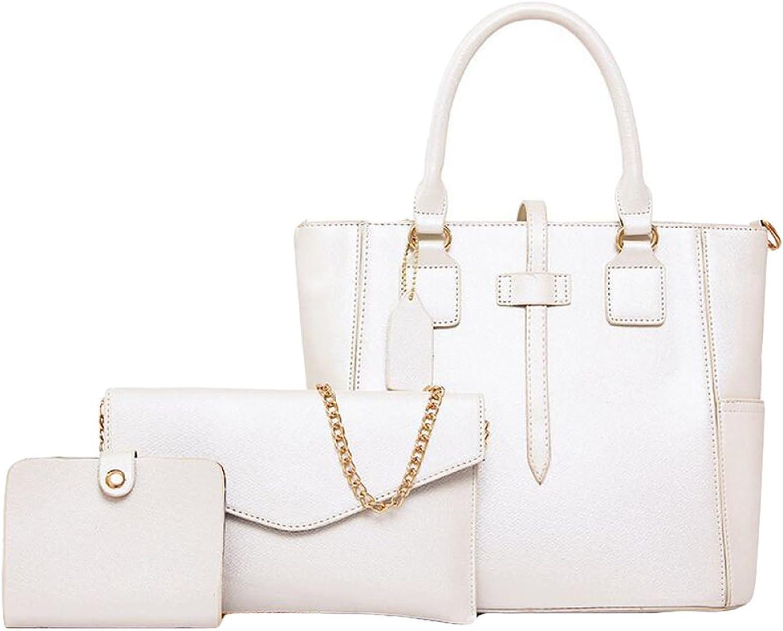 Damen Drei Drei Drei Sätze Von Sub-Paket Tasche Schultertasche Messenger Bag Handtasche Karte Tasche Hand Tasche Hardware Reißverschluss B075CF4NN4  Niedrige Kosten 88edc0