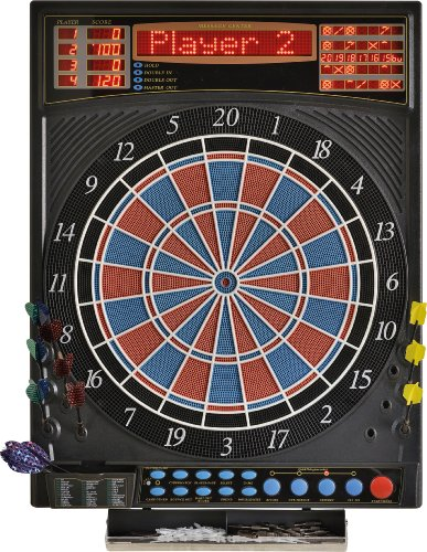 Dartona Elektronische Dartscheibe JX2000 Turnier Pro - | Dartscheibe elektronisch | Turnierscheibe mit 41 Spielen und über 200 Varianten