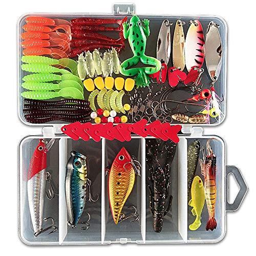 Afishup 91 accessoires de pêche d'extérieur pour...