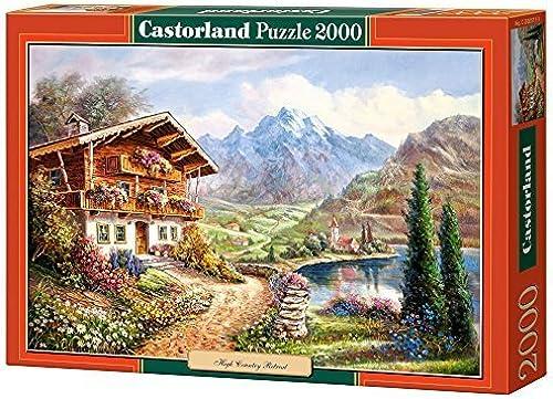 Castorland High Country Retreat Jigsaw (2000-Piece) by Castorland