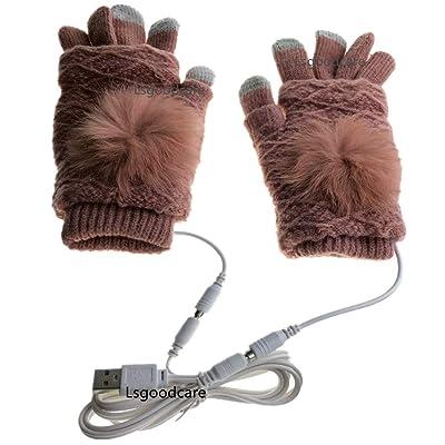 Lsgoodcare USB Fingerless/Finger 2 In 1 Heating...