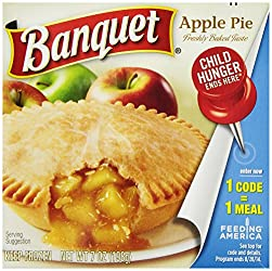 Banquet Apple Pie Frozen Dessert, 7 Ounce