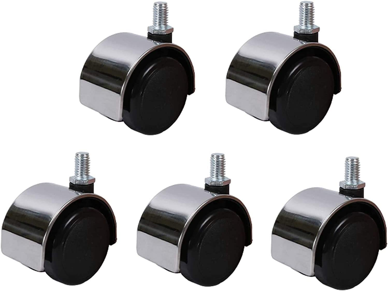 Casters Set Fashion of 5 Office Chair Hard Universal Wheels R Floors Quality inspection for