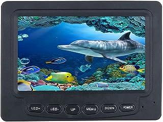 AFSDF HD 4.3 Pulgadas 1000Tvl Finder De Pesca Bajo El Agua Monitor De La Cámara De Pesca LED Visión Nocturna Cámara De Rue...