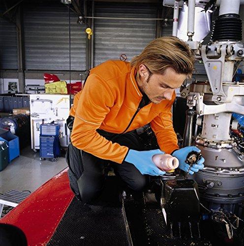 Uvex 60597 L u-fit Lite Einweg-Schutzhandschuhe, Größe: L, Indigoblau
