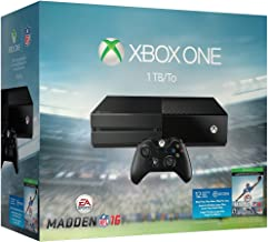 Xbox One 1TB Console - EA Sports Madden NFL 16 Bundle