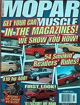 Mopar Muscle Magazine - AAR, RAM 4X4, GTX 440-6 (October, 2000)
