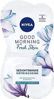 NIVEA Good Morning Fresh Skin Gesichtsmaske im 1er Pack 1 x 15 ml, erfrischende Gesichtspflege Maske verwöhnt die Haut, Hautpflege Maske für normale und Mischhaut