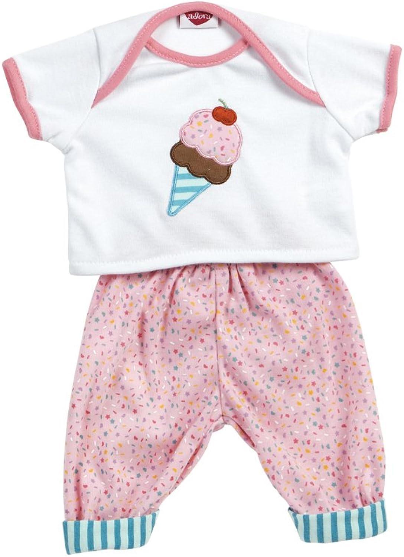 Adora Dolls Nursery Time Baby Doll Ice Cream Ensemble Outfit
