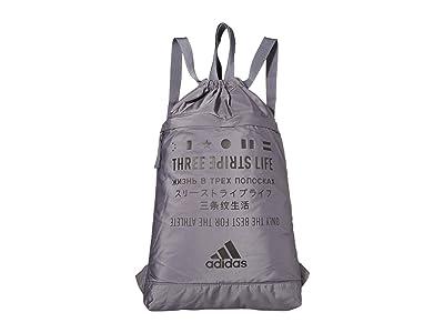 adidas Amplifier Blocked Sackpack (Onix/Black) Bags