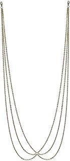 Femnmas Golden Bikini Waist Chain for Girls | Multi Tassel Belly Chain | Multi Layer Waist Chain