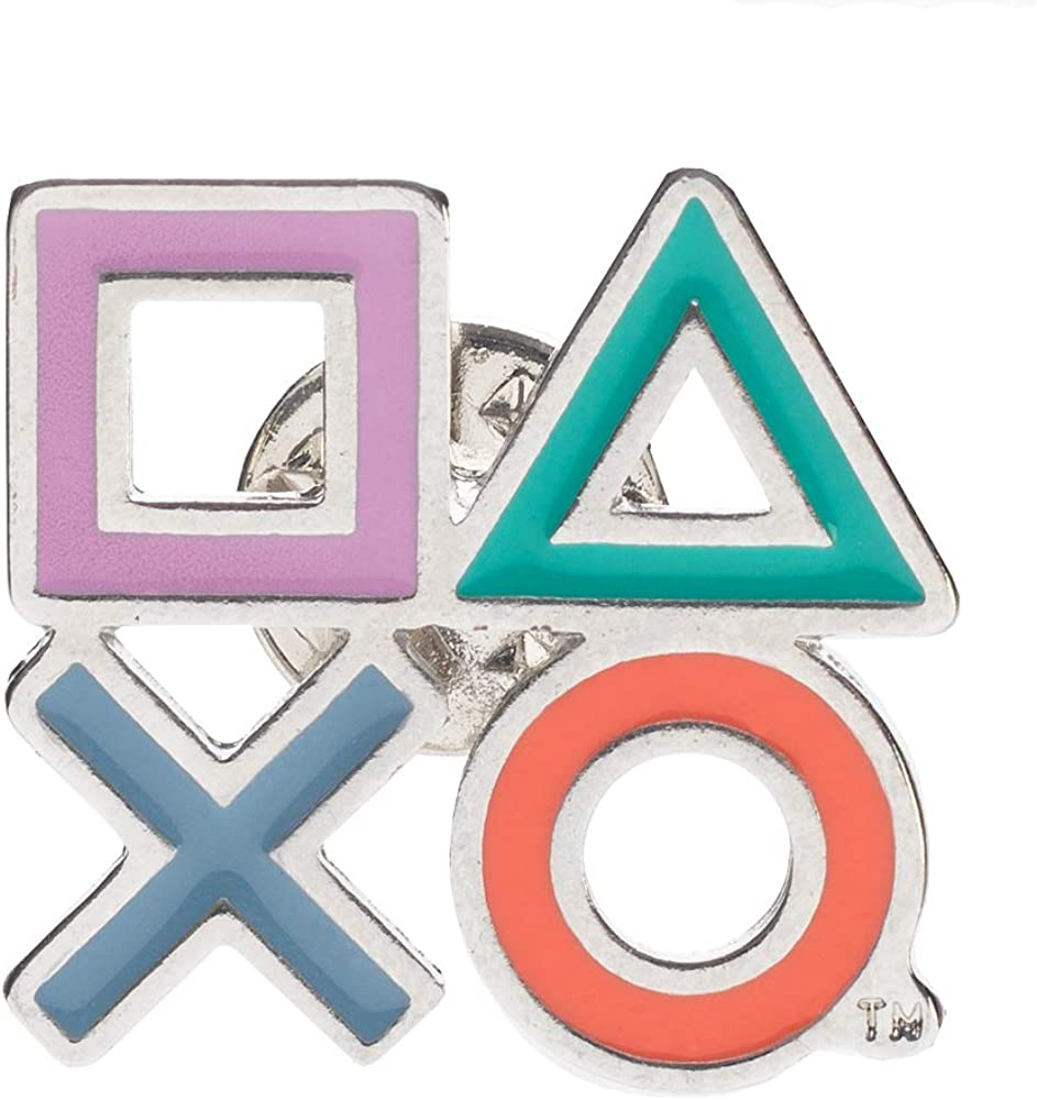 PlayStation Controller Icons 1� Lapel Pin