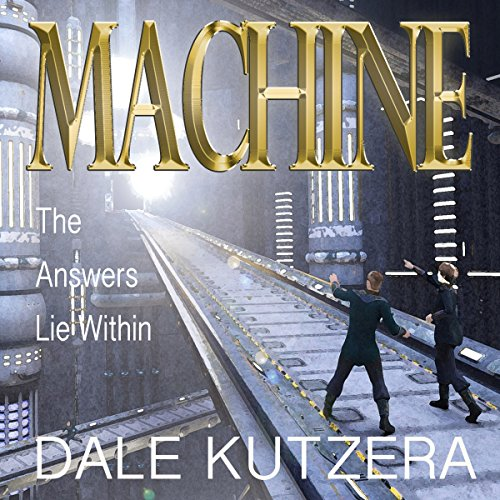 Machine audiobook cover art