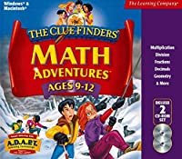 The ClueFinders Math Adventures Ages 9-12