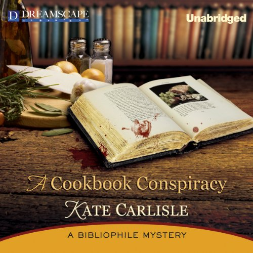 A Cookbook Conspiracy audiobook cover art
