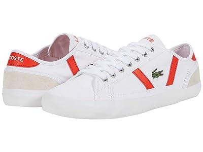 Lacoste Sideline 0120 6 (White/Red) Men