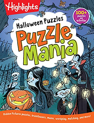 Halloween Puzzles (Highlights™ Puzzlemania® Activity Books)