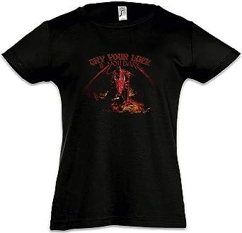 Urban Backwoods Dragon I Camiseta para Niñas Chicas niños T-Shirt Black