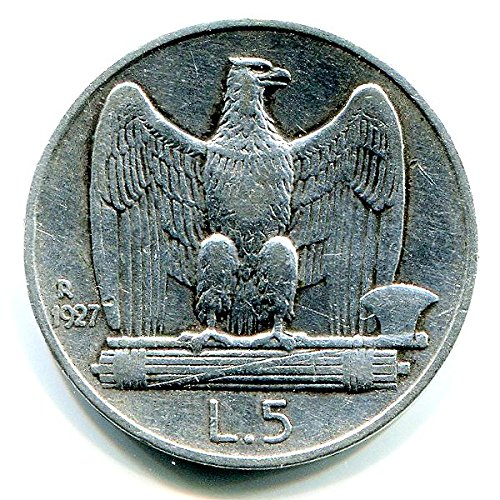Regno d'Italia 5 lire Argento Aquilino o Aquilotto (5 gr. - 23 mm.) vari anni una moneta da collezione Silver Coin