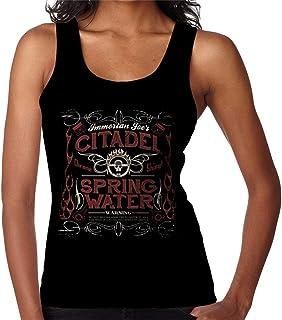 RHEYJQA Immortan Joes Citadel Spring Water Mad Max Women's Vest