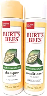 Burt's Bees More Moisture Baobab Shampoo and Conditioner Combo 10 fl oz.