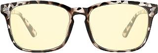 TIJN Blue Light Blocking Computer Reading Gaming Glasses Nerd Coumpter Glasses for Men Women