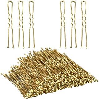 U Shaped Hair Pins, TsMADDTs Bun Hair Pins with Box,100 pack(6 cm/2.36 Inches)