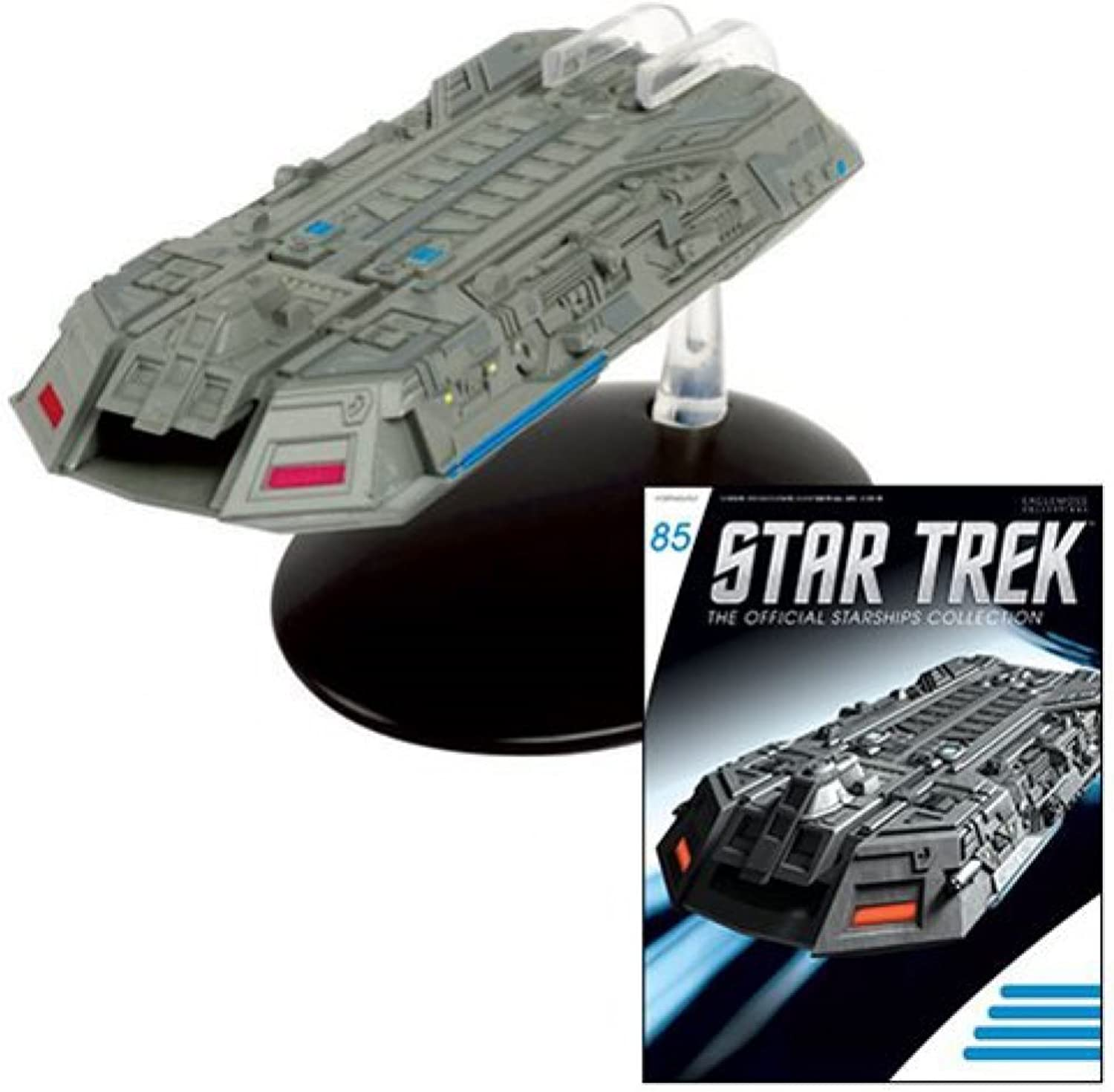 Star Trek Starships Federation Holo Ship Die-Cast Vehicle with Collector Magazine  85