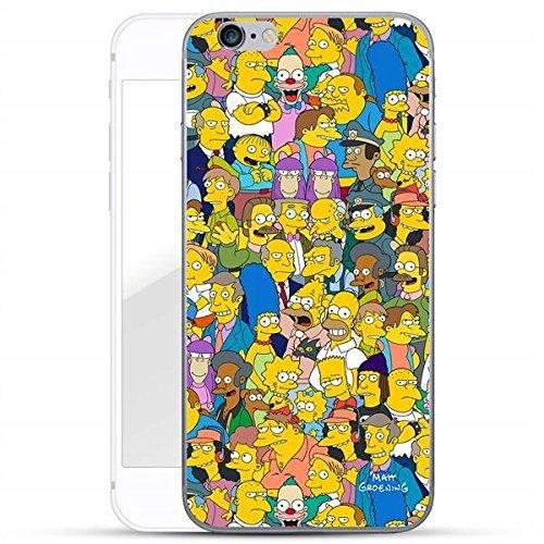 Finoo Simpsons Serie 01 Custodia Rigida iPhone - Simpsons Personaggi 01, iPhone 6 Plus / 6S Plus