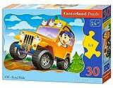 Castorland Off-Road Ride 30 pcs Contour puzzle 30 pieza(s) - Rompecabezas (Contour puzzle, Dibujos, Niños, Niño/niña, 4 año(s), Interior) , color/modelo surtido