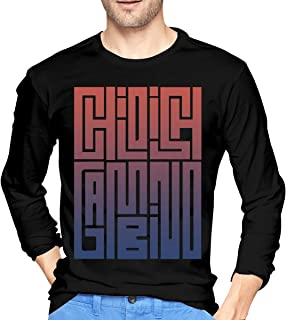 fd5977cd6d5f NeedLove Mens Vintage Childish Gambino Long Sleeve T Shirt Black