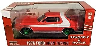 Greenlight Chase Green Machine 84042 Starsky & Hutch Torino 1:24 Scale w/Green Rims